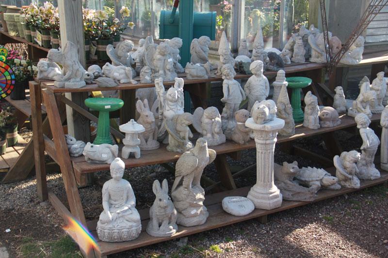 Garden concrete statuary home ideas for Yard ornaments for sale